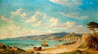 paysage côtier en méditerrannée by emmanuel coulange-lautrec