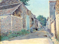 rue de village by george le meilleur
