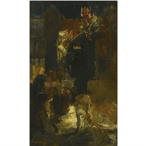 a building site by george hendrik breitner