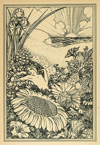 group of 6 illustrations for a book of old english love songs 6 works by george wharton edwards