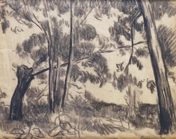 les arbres by maximilien luce