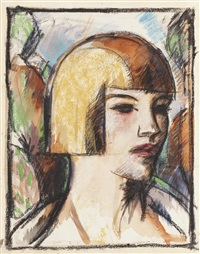 nellie by john duncan fergusson