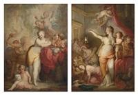 allegoria del vizio (+ allegoria della virtu; 2 works) by francesco corneliano