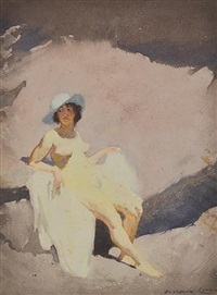 the green hat by norman alfred williams lindsay