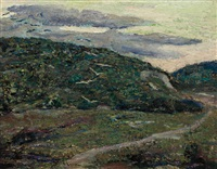 path round the mountains by ernest lawson