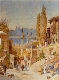 scutari and the bosphorus by stanley mylius