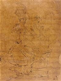 etude pour la mort de poniatowski by théodore géricault