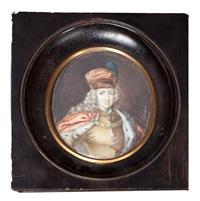 portrait de l'empereur charles vi, roi de hongrie et de sicile by johann gottfried auerbach