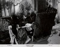 la belle et la bête--jean marais dans le film de jean cocteau by g.r. aldo