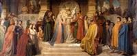 la mariage de la vierge by jean-baptiste auguste leloir