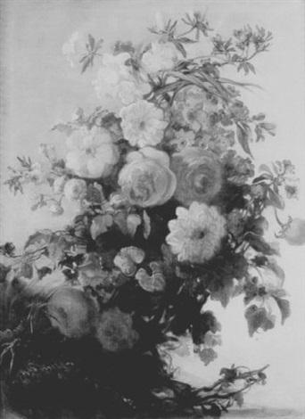 floral still life by iphigénie milet mureau