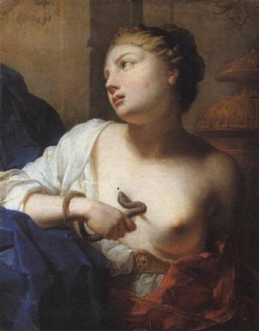 cléopâtre by antoine rivalz