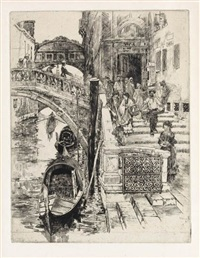 the bridge of sighs (second plate) by frank duveneck