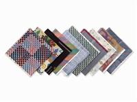 10 sample fabrics by verner panton