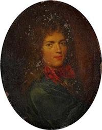 portrait dit de j.f. regnard by pierre mignard