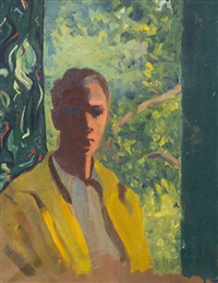 portrait of clifton webb by david park