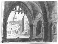 mittelalterliche burg by antonio de pian