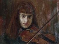 la violinista by oscar sogaro