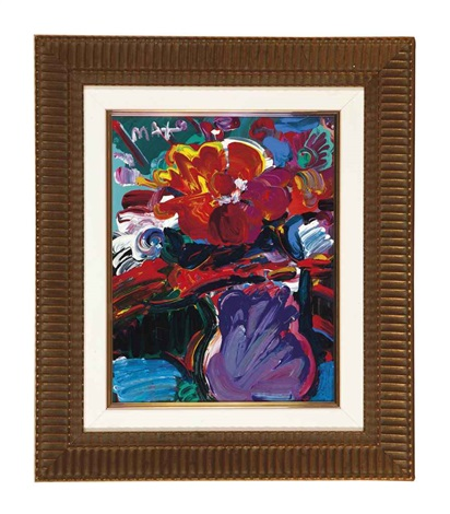 vase of flowers version ii no 1 by peter max