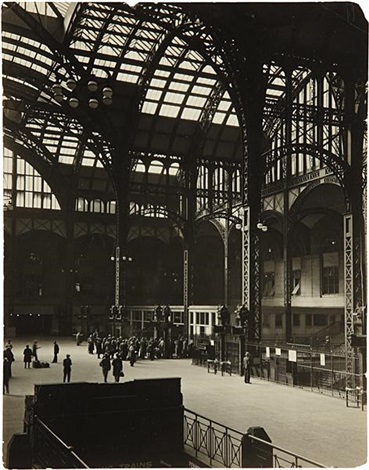 pennsylvania station interior july 14 by berenice abbott