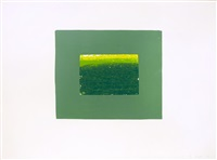 plate k, from indian views by howard hodgkin