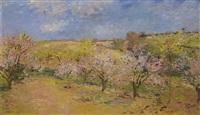 the flowering orchard by frantisek jiroudek