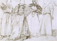 kostümentwürfe by giovanni fontana