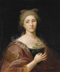ritratto di giovane donna by alessandro d' anna