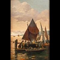 il ritorno dei pescatori by gustavo hess