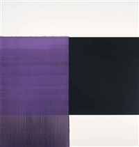 exposed painting dioxazine violet scheveningen black by callum innes