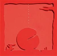 teatrino rosso by lucio fontana