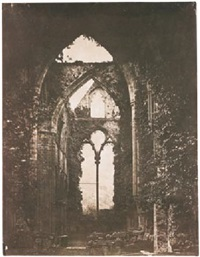 ruined abbey window by john wheeley gough gutch
