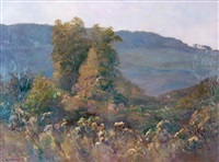 automne à rougemare aux environs de rouen by raymond quibel