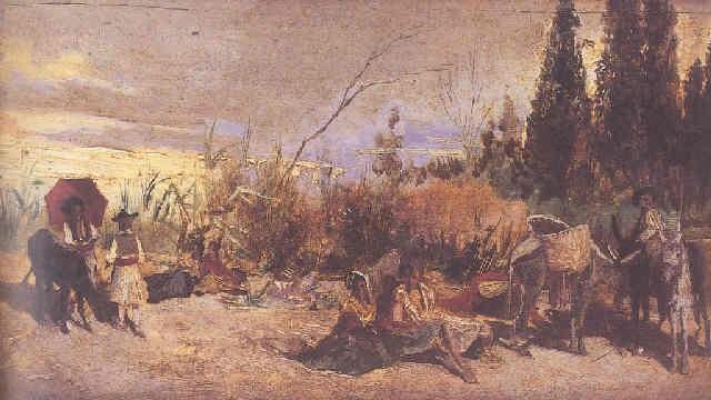 tarde en el campo by manuel picolo y lopez