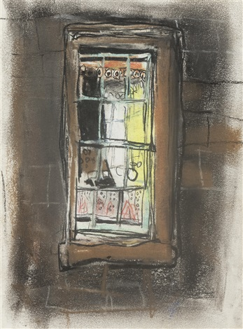 tenement window by joan kathleen harding eardley