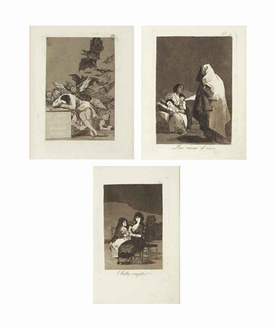 los caprichos 80 works by francisco de goya