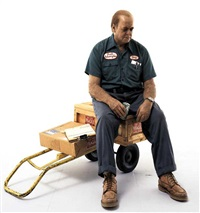 delivery man by duane hanson