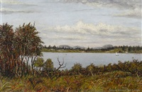 lake pupuke by albert edward aldis