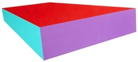 red top slab (from the ray trace shape) by ronald davis