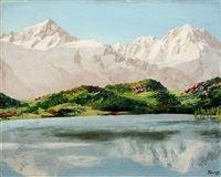 lac des posettes by jacques charles fourcy