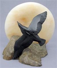 raven and moon by bill nasogaluak