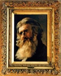 portrait d'un homme barbu by artur grottger
