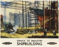 shipbuilding, british railways by norman hepple