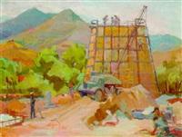 construction site by zhenia arutyunyan