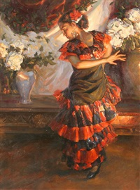 flamenco dancer by pedro de aranda