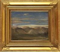ciel en montagne (study) by nicolas louis cabat
