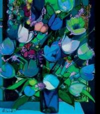 le bouquet bleu by camille hilaire