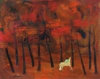cavallo nel bosco by gianrodolfo d'accardi