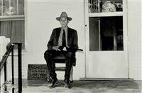 william burroughs, lawrence, kansas, sept by kate simon