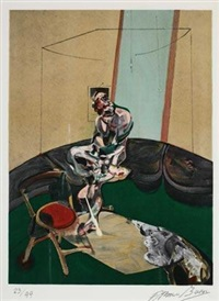 george dyer 固定绳索 by francis bacon